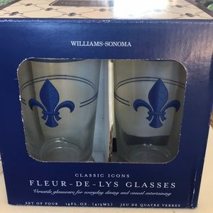 Williams Sonoma set of glasses